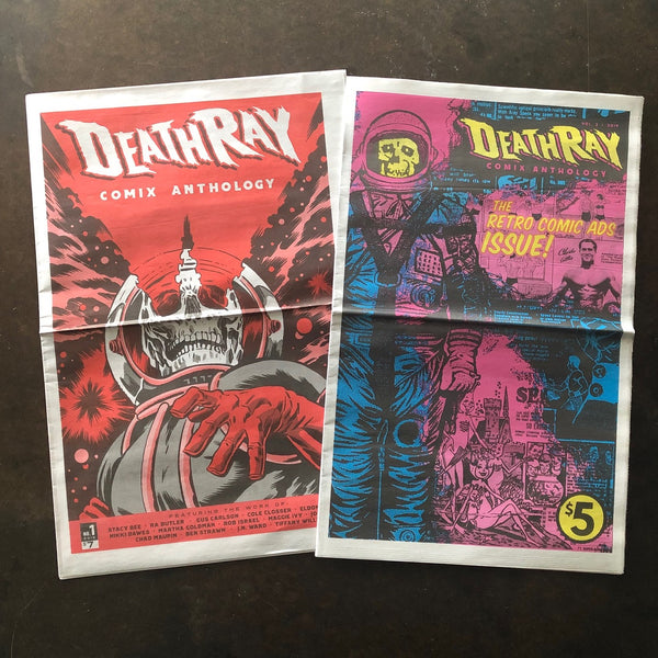 Death-Ray Comix Combo!