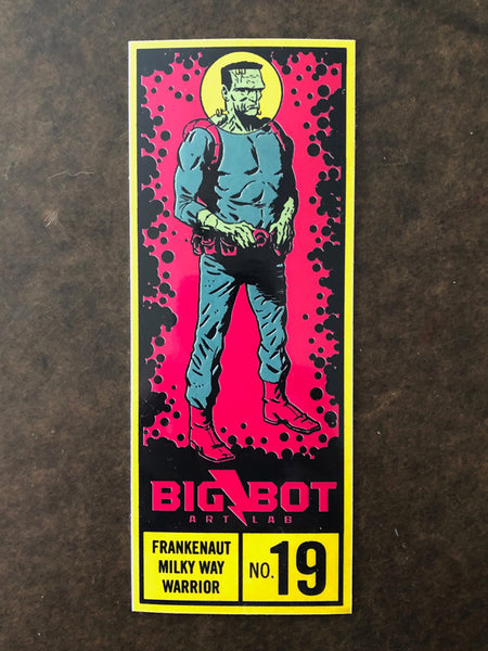 Big-Bot FrankeNaut Corner Box Sticker