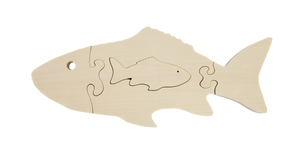 Wooden Puzzle – Fish