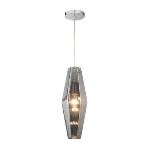 Elk Pelham 1 Light Pendant In Polished Chrome