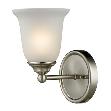 Thomas Sudbury 1 Light Vanity In Brushed Nickel