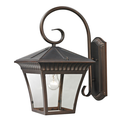 Thomas Ridgewood 1 Light Outdoor Wall Sconce In Hazelnut Bronze