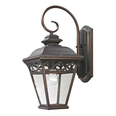 Thomas Mendham 1 Light Outdoor Wall Sconce In Hazelnut Bronze