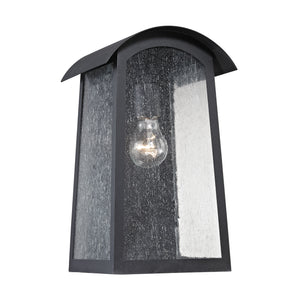 Thomas Prince Street 1 Light Outdoor Wall Sconce In Matte Black