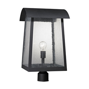 Thomas Prince Street 1 Light Outdoor Post Lamp In Matte Black