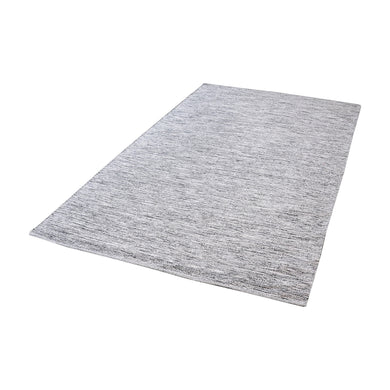Dimond Home Alena Handmade Cotton Rug In Black And White - 5ft x 8ft