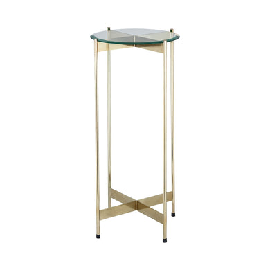 Dimond Home 1 Wall Street Gold Accent Table