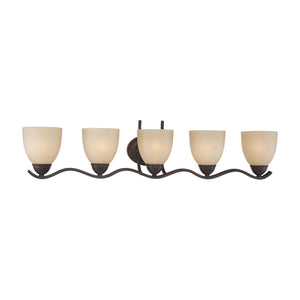 Thomas TRITON wall lamp Sable Bronze 5x100W 120