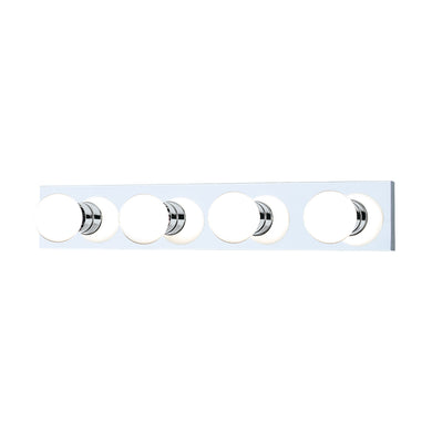 Thomas VANITY STRIPS wall lamp Chrome 4x100W