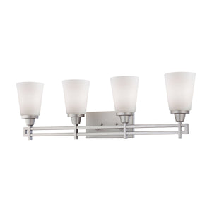 Thomas WRIGHT wall lamp Matte Nickel 4x100W 120