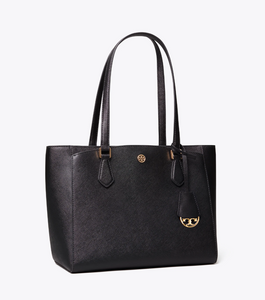 Robinson Small Tote- Black