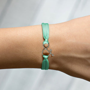 The Ampersand Charm - Mint Green