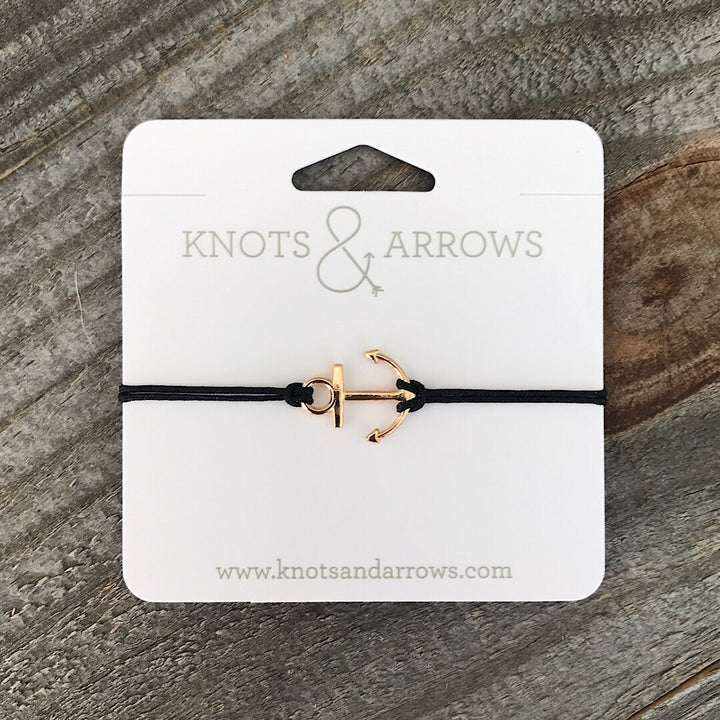 Gold Anchor Charm