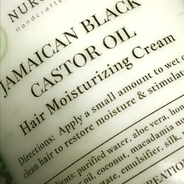 Jamaican Black Castor Oil Hair Souffle/Leave In Conditioner *Light Daily Hair Cream w/ Macadamia nut oil Styling Creme for Healthy Growth