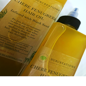 Chebe Hair Oil Infused with Black Seeds, Fenugreek Seeds, Mustard Seeds, Cinnamon Bark, Concentrate Authentic Chebe Powder Hair Growth