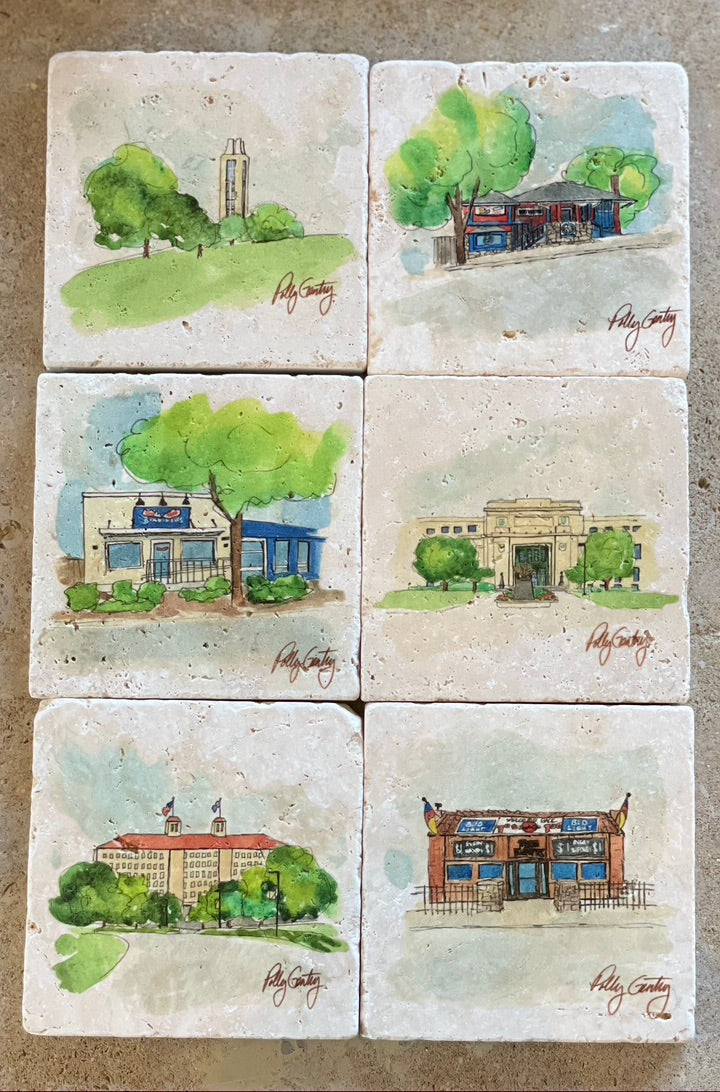 University of Kansas Coasters & Prints