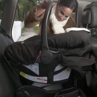 Cozy Cover Original Infant Car Seat Cover - The Industry Leader for Infant Carrier Covers - Trusted by Over 6 Million Moms for Keeping Your Baby Cozy and Warm from Mother Nature's Harsh Cold Winter's, Wind and Rain