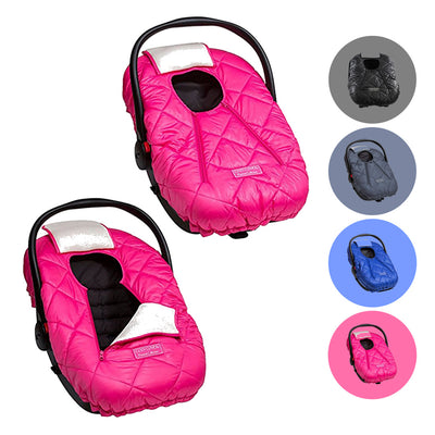Cozy Cover PREMIUM Infant Car Seat Cover with Warm and Soft Polar Fleece Lining - The Industry Leading Infant Carrier Cover Trusted by Over 6 Million Moms for Keeping Your Baby Cozy and Warm from Mother Nature's Harsh Cold Winter's, Wind and Rain