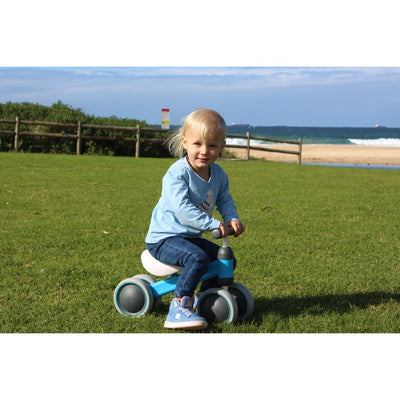 MotoTod Mini Balance Bike Blue