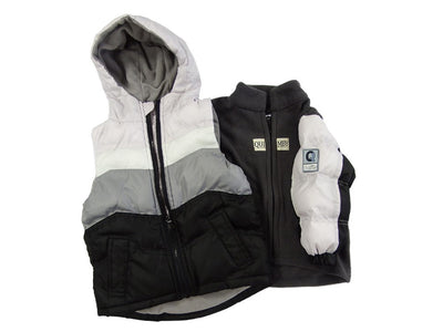 The Quimby Coat Children's Car Seat Coat - Lavender - 2 in 1 Winter Jacket & Vest for Safety When Travelling in The Car