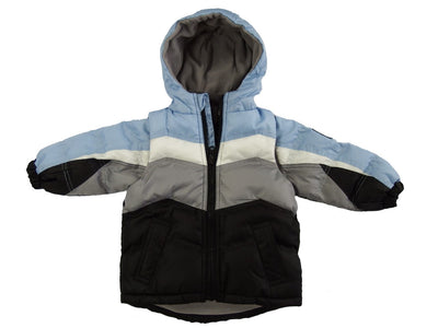 The Quimby Coat Children's Car Seat Coat - Blue - 2 in 1 Winter Jacket & Vest for Safety When Travelling in The Car
