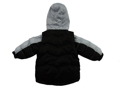 The Quimby Coat Children's Car Seat Coat - Fog - 2 in 1 Winter Jacket & Vest for Safety When Travelling in The Car
