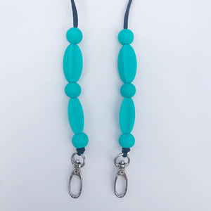 Teal Keep Me Close Chain- Adult/Youth Size