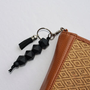 Geometric and Tassel Key Chain
