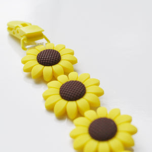 Sunflower Soother Clip