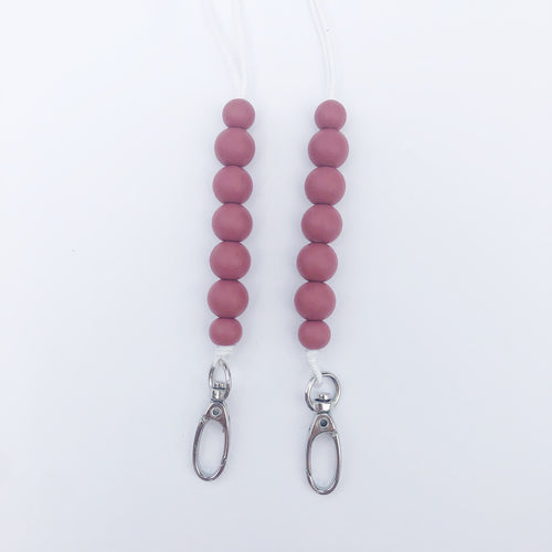 Wine Red Keep Me Close Chain- Mama/Youth Size