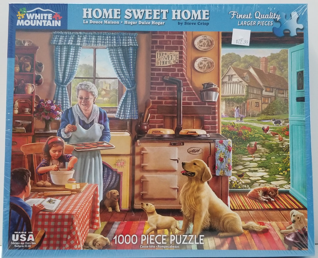 Home Sweet Home - White Mountain Puzzle