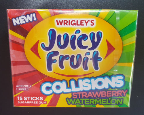 Juicy Fruit Collisions. Strawberry Watermelon Sugar Free
