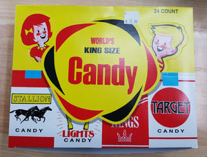 Case of King Sized Candy Sticks