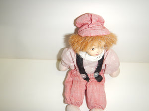 Antique Doll With Red Pants