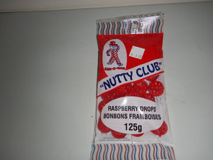 Nutty Club Raspberry Drops