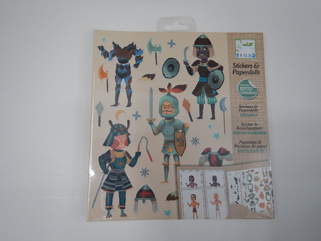 Stickers & Paper Doll Knights