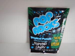 Pop Rocks Tropical Punch popping candy