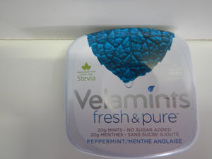 Velamints Peppermint Sugar Free