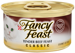 Fancy Feast Tender Beef Canned Cat Food