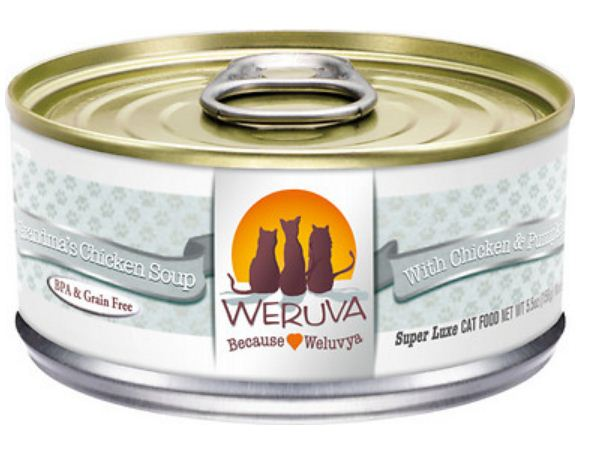 Weruva Grandma's Chicken Soup With Chicken  Potato  Pea  and Carrot Canned Cat Food