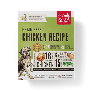 The Honest Kitchen Grain Free Chicken Recipe Dehydrated Dog Food