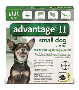Advantage II Small Dog