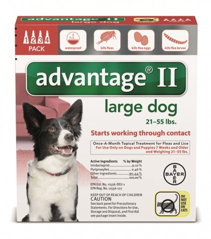 Advantage II Large Dog