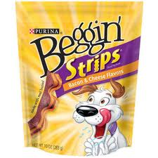 Beggin Strips Bacon and Cheese Flavor Dog Treats