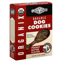 Castor and Pollux Organix Peanut Butter Dog Cookies