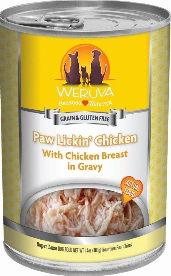 Weruva Paw Lickin Chicken Canned Dog Food