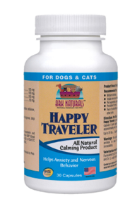 Ark Naturals Happy Traveler Supplements For Dogs and Cats