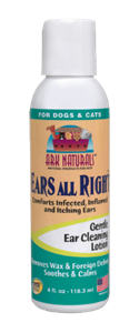 Ark Naturals Ears All Right Cleaning Lotion For Dogs and Cats