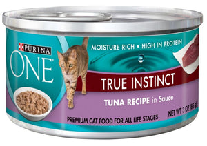 Purina ONE Tuna in Sauce Canned Cat Food