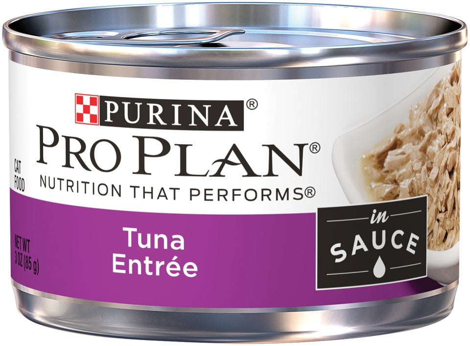 Purina Pro Plan Savor Adult Tuna Entree In Sauce Canned Cat Food